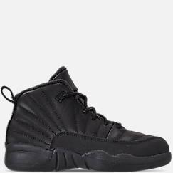 Little Kids' Air Jordan Retro 12 Winter Basketball Shoes
