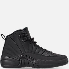 Big Kids' Air Jordan Retro 12 Winter Basketball Shoes