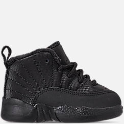 Kids' Toddler Air Jordan Retro 12 Winter Basketball Shoes