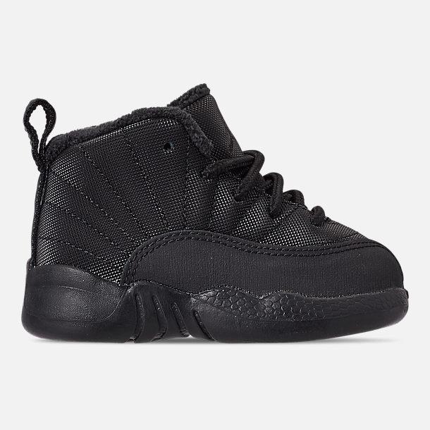 free shipping 389c0 40d69 Kids' Toddler Air Jordan Retro 12 Winter Basketball Shoes ...