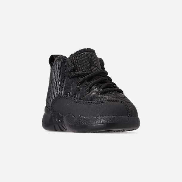 free shipping 307bf 95dbc Kids' Toddler Air Jordan Retro 12 Winter Basketball Shoes ...