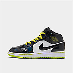 Boys' Big Kids' Air Jordan 1 Mid SE Casual Shoes