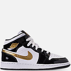 bd1d0b04746 Boys  Big Kids  Air Jordan 1 Mid SE Casual Shoes