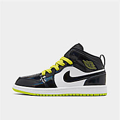 Boys' Little Kids' Air Jordan 1 Mid SE Casual Shoes