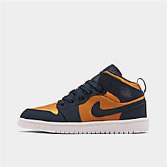 Boys' Little Kids' Air Jordan 1 Mid SE Casual Shoes