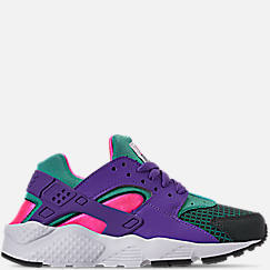 Girls' Big Kids' Nike Huarache Run Now Casual Shoes