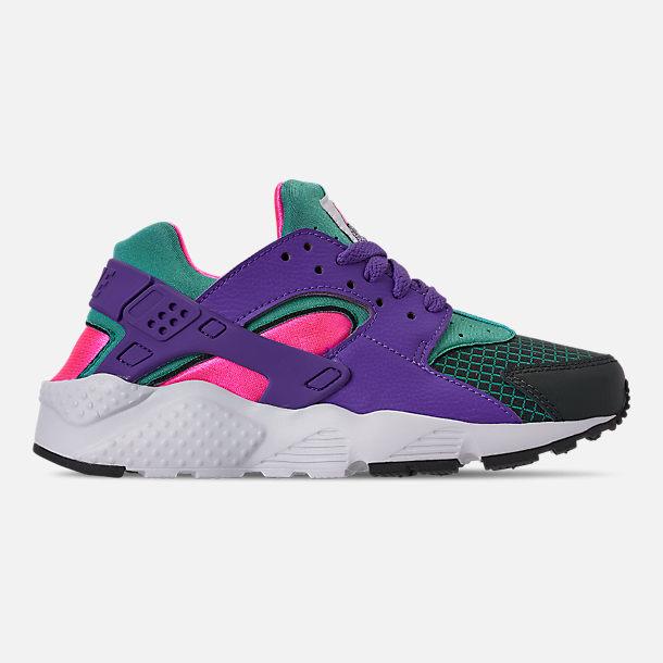 980dba49f69d3 Right view of Girls  Big Kids  Nike Huarache Run Now Casual Shoes in Outdoor