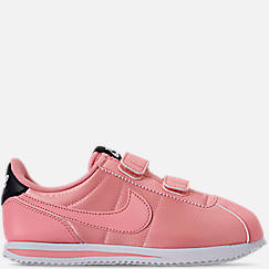 Girls' Little Kids' Nike Cortez Basic Textile Casual Shoes