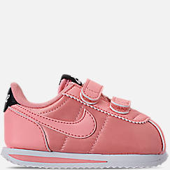 Girls' Toddler Nike Cortez Basic Textile Casual Shoes