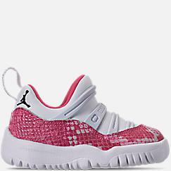 79f3273924af Girls  Toddler Air Jordan Retro 11 Little Flex Basketball Shoes