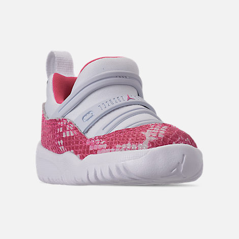 separation shoes 5d0cf 3ddc0 Three Quarter view of Girls  Toddler Air Jordan Retro 11 Little Flex  Basketball Shoes in