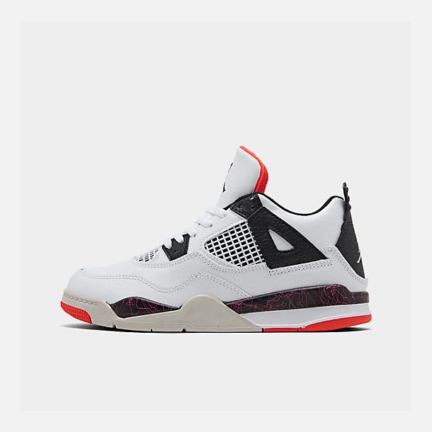 super popular 8f21b e9b31 Little Kids' Air Jordan Retro 4 Basketball Shoes