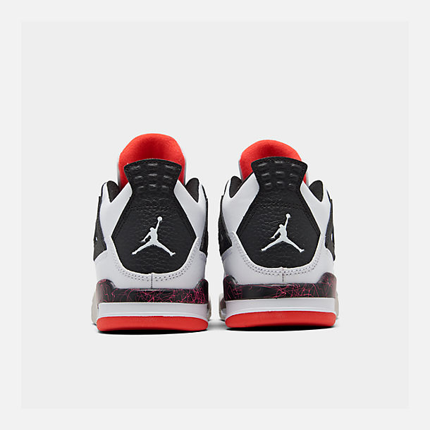 super popular 6f3b2 21a01 Little Kids' Air Jordan Retro 4 Basketball Shoes