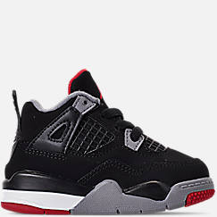 b49b333a200 Kids  Toddler Air Jordan Retro 4 Basketball Shoes