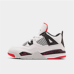 f40d693db707 Kids  Toddler Air Jordan Retro 4 Basketball Shoes