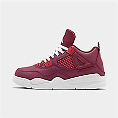 Girls' Little Kids' Air Jordan Retro 4 Basketball Shoes