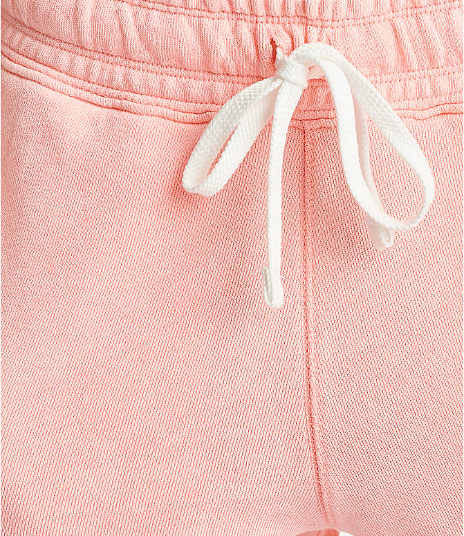 Detail 2 view of Women's Nike Sportswear Shorts in Bleached Coral/Summit White