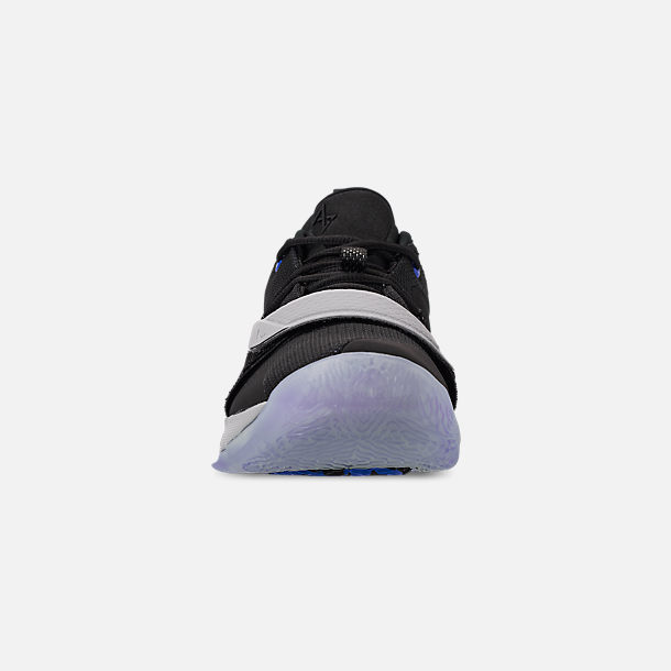 4c6cab8d5ccc Front view of Men s Nike PG 2.5 Basketball Shoes in Black Photo Blue Navy