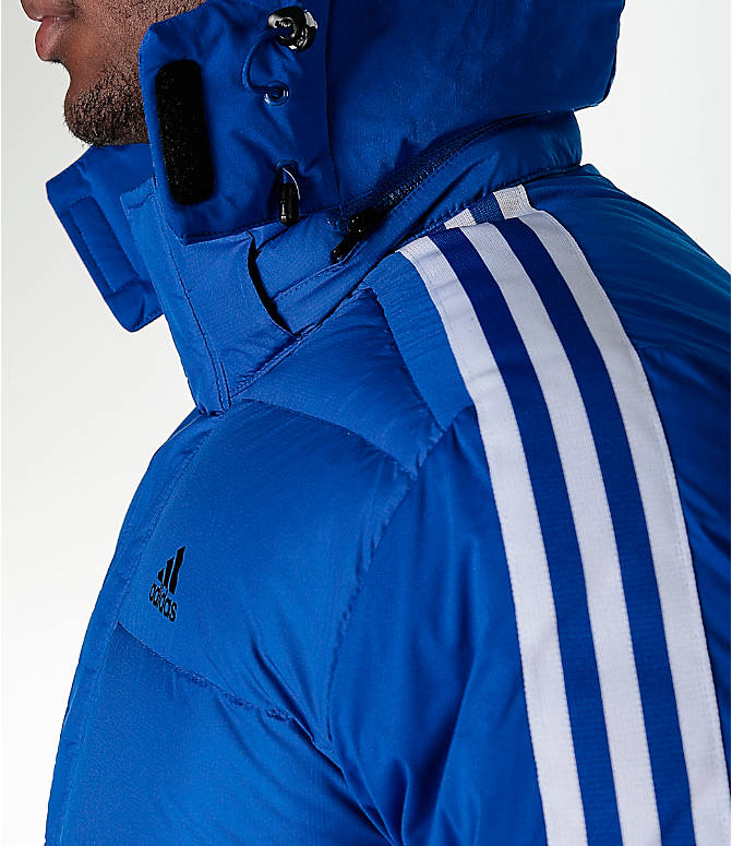 Detail 1 view of Men's adidas Itavic 3-Stripe Jacket in Royal/White