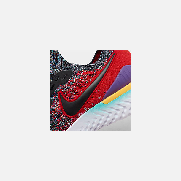 d8000d93c8851 Front view of Men s Nike Epic React Flyknit 2 Running Shoes in Black Black
