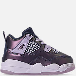 Girls' Toddler Air Jordan Retro 4 SE Basketball Shoes