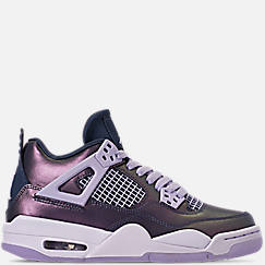Girls' Big Kids' Air Jordan Retro 4 SE Basketball Shoes