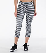 Women's Reebok Studio Yoga Stripe Capris