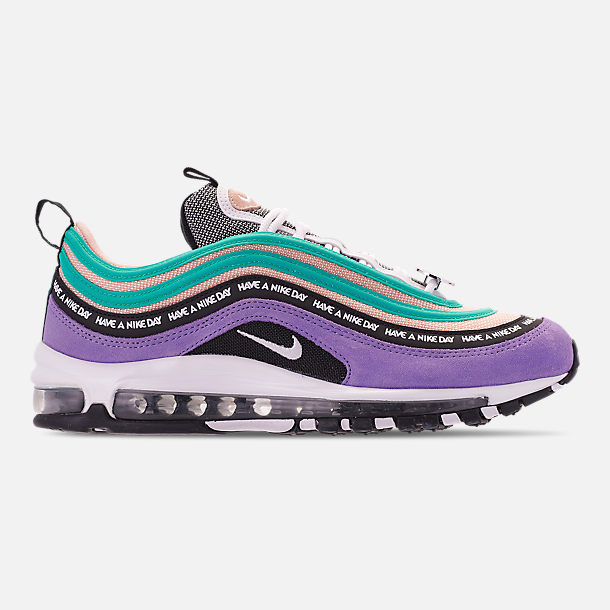 ece01db7d04e Right view of Men s Nike Air Max 97 ND Casual Shoes in Space Purple White