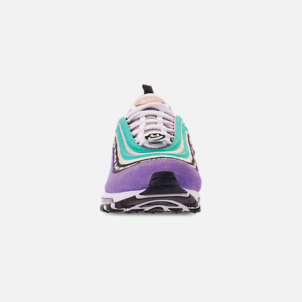 957429a835 Front view of Men's Nike Air Max 97 ND Casual Shoes in Space Purple/White