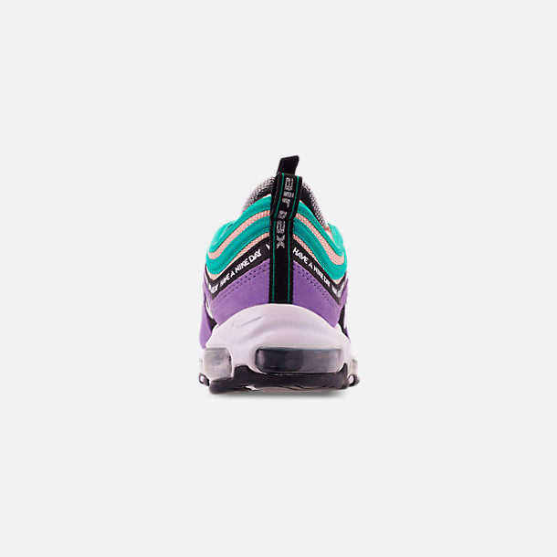 0a0d7fb22b Back view of Men's Nike Air Max 97 ND Casual Shoes in Space Purple/White