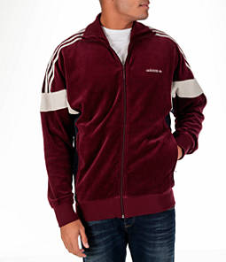 Men's adidas Originals Challenger Velour Track Jacket