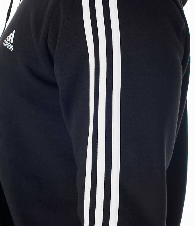 Detail 2 view of Men's adidas Badge of Sport Hoodie in Black/White