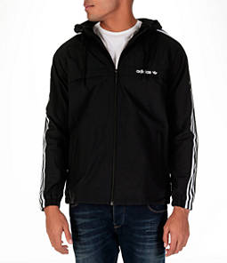 Men's adidas Originals 3-Stripes Windbreaker Jacket