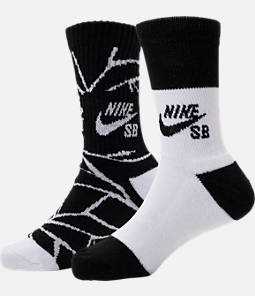 Kids' Nike SB Hazard Crew Socks - 2 Pack