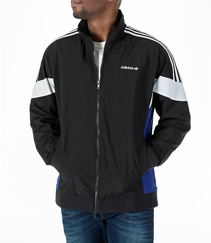 Front view of Men's adidas Originals St Pete Track Jacket