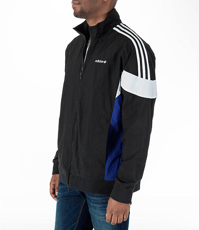 Front Three Quarter view of Men's adidas Originals St Pete Track Jacket