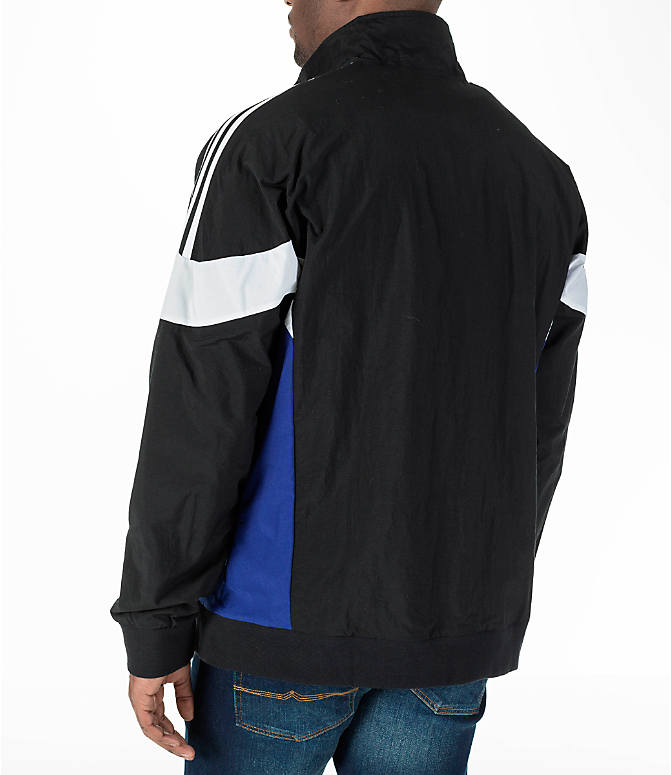 Back Left view of Men's adidas Originals St Pete Track Jacket
