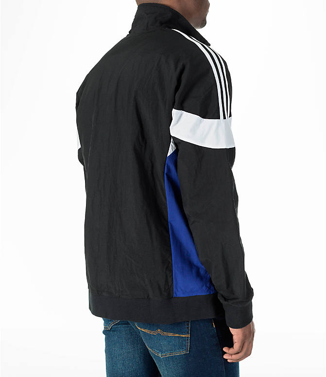 Back Right view of Men's adidas Originals St Pete Track Jacket