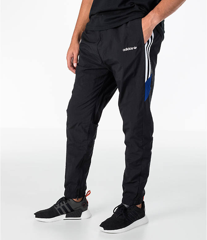 Front view of Men's adidas Originals St Pete Track Pants in Black