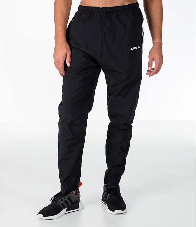 Front Three Quarter view of Men's adidas Originals St Pete Track Pants in Black