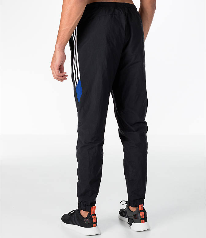 Back Left view of Men's adidas Originals St Pete Track Pants in Black