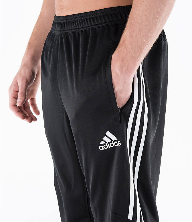 Detail 1 view of Men's adidas Tiro 17 Training Pants in Black/White