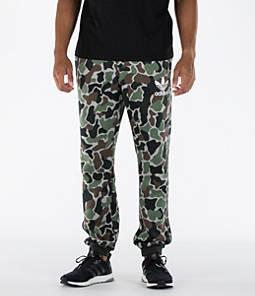 Men's adidas Camo Cuffed Jogger Pants