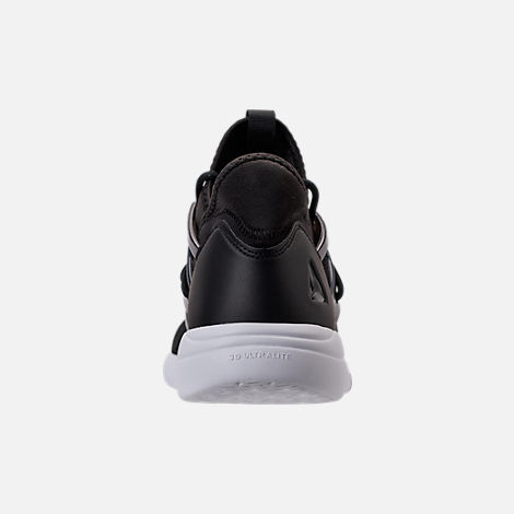 Back view of Women's Reebok Hayasu LTD Casual Shoes in Black/Oil Slick/White/Violet