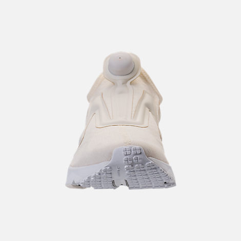 Front view of Men's Reebok Pump Supreme Running Shoes in Classic White/White