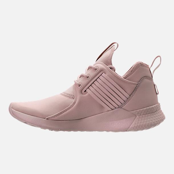 Left view of Women's Reebok Guresu 1.0 Casual Shoes in Shell Pink