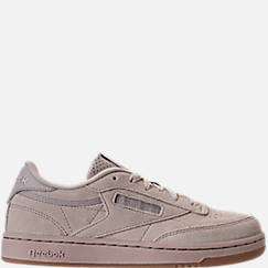 Boys' Grade School Reebok Club C Casual Shoes