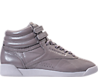 Women's Reebok Freestyle Hi Iridescent Casual Shoes