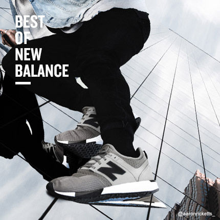 Best of New Balance for Back to School. Shop Now.