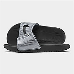 Girls' Big Kids' Nike Kawa EP Slide Sandals